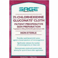 2% Chlorhexidine Gluconate Cloth, 7-1/2