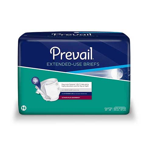 Prevail PM Extended Wear Brief Large 45